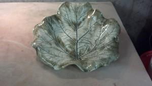 Porcelain Rhubarb Bowl