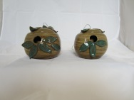 Stoneware Bird Houses