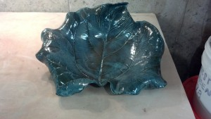Stoneware Rhubarb Bowl Jade 2