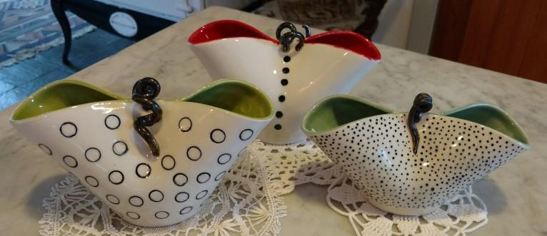 Porcelain Whimsical Vases